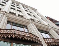 El mirar para arriba el edificio Imagen de archivo