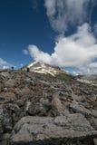 El mirar para arriba el pico de Quandry Fotos de archivo libres de regalías