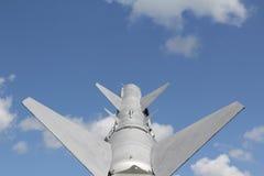 Rocket mira el cielo Fotos de archivo libres de regalías