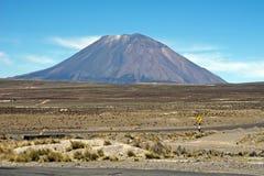 El Misti, Peru. El Misti Volcano, near Colca Canyon Peru Stock Photo