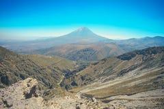 El Misti wulkan w Arequipa, Peru fotografia royalty free