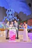 El 11mo international 2013 de la selección de Srta. Tourism Foto de archivo libre de regalías