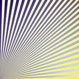 El modelo abstracto de líneas coloreadas llenó de pendiente libre illustration