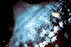 El modelo abstracto de la llamarada del bokeh y de la lente en estrella forma con el filtro del vintage Foto de archivo libre de regalías