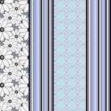 El modelo abstracto inconsútil, líneas verticales, dibujando puntea el fondo elegante de la textura del ornamento Fotos de archivo libres de regalías