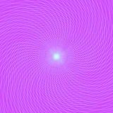 El modelo abstracto, las líneas azules torció en un espiral en un b violeta stock de ilustración