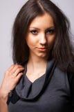 El modelo con Niza oye. Fotos de archivo