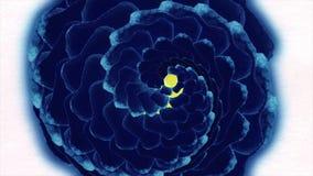 El modelo de la acuarela de la flor se va en el fondo blanco creciendo las flores, ruborícese fondo color de rosa, flores de pape ilustración del vector