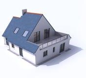 El modelo de la arquitectura, contiene a libre illustration
