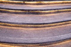 El modelo de la escalera adorna la línea luz Fotos de archivo