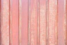 El modelo de madera superficial del primer en el viejo tablero de madera en la cerca de la casa texturizó el fondo Imagen de archivo libre de regalías