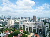 El modelo de Tailandia es una de las compras principales de Bangkok Imagen de archivo