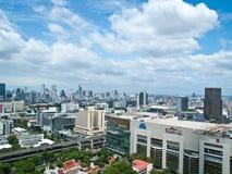 El modelo de Tailandia es una de las compras principales de Bangkok Fotos de archivo libres de regalías