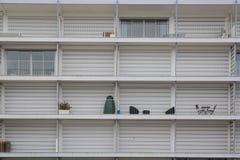El modelo del balcón del apartamento Fotografía de archivo libre de regalías