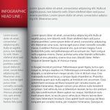 El modelo del diseño moderno/se puede utilizar para el infographics Fotos de archivo libres de regalías