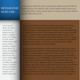 El modelo del diseño moderno/se puede utilizar para el infographics Imagenes de archivo