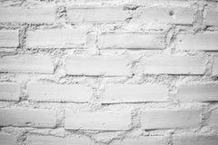 El modelo del fondo blanco de la pared de ladrillo Fotografía de archivo libre de regalías