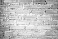El modelo del fondo blanco de la pared de ladrillo Foto de archivo libre de regalías