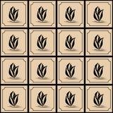 El modelo del vector Estilo del mosaico Fotos de archivo libres de regalías