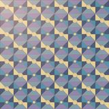 El modelo del vector Estilo del mosaico Imagen de archivo
