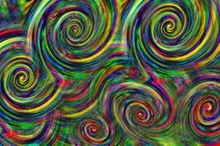 El modelo geométrico colorea el fondo abstracto Foto de archivo libre de regalías