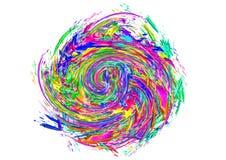 El modelo geométrico colorea el fondo abstracto Imagen de archivo