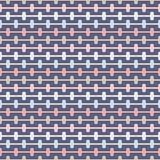 El modelo inconsútil de los colores en colores pastel con el almenaje curvó líneas Figuras geométricas repetidas papel pintado Su Imagenes de archivo