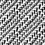 El modelo inconsútil del vector, cepillo dibujado mano texturizó waterco de la imagen Foto de archivo libre de regalías