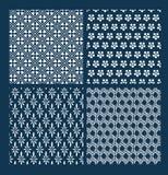 El modelo japon?s del vector fij? la geometr?a oriental tradicional foto de archivo libre de regalías