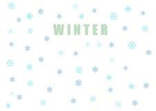 El modelo semless del invierno Foto de archivo libre de regalías
