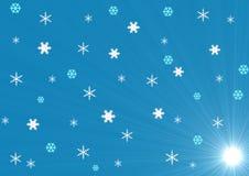 El modelo semless del invierno Imagenes de archivo