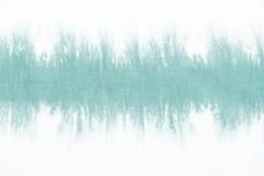 El modelo teñido lazo verde en la inmersión de la tela de algodón teñió el fondo abstracto de la técnica Foto de archivo libre de regalías