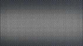 El modelo texturizado abstracto con el fondo industrial de los agujeros redondos torció ilustración del vector