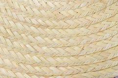 El modelo y el diseño de bambú tailandés del estilo handcraft Fotos de archivo libres de regalías