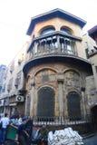El Moez街道老开罗,埃及 免版税库存图片