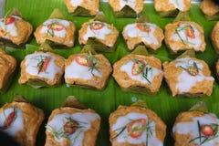 Hor Mok/Haw Mok (pescados al curry) Fotografía de archivo libre de regalías