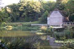 El molino de agua Foto de archivo libre de regalías