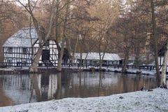 El molino de agua viejo Foto de archivo