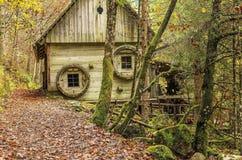 El molino de agua viejo Fotografía de archivo libre de regalías