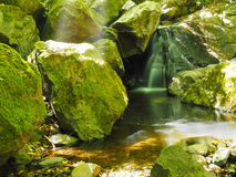 El molino de la cascada Imágenes de archivo libres de regalías