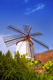 El molino de Mogan historical windmill Royalty Free Stock Images