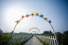 El molino de viento Imágenes de archivo libres de regalías