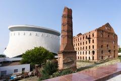 El molino Gerhardt Stalingrad, Rusia foto de archivo libre de regalías