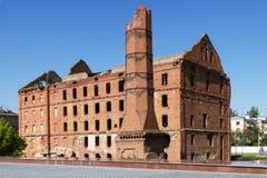 El molino Gerhardt Stalingrad, Rusia foto de archivo