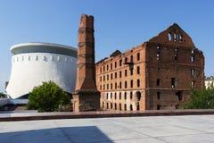 El molino Gerhardt Stalingrad, Rusia fotografía de archivo libre de regalías