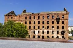 El molino Gerhardt Stalingrad, Rusia imagen de archivo libre de regalías