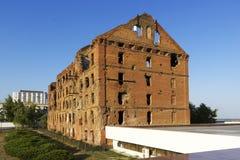 El molino Gerhardt Stalingrad, Rusia fotos de archivo libres de regalías