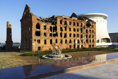 El molino Gerhardt Stalingrad, Rusia imagenes de archivo