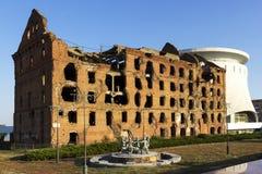 El molino Gerhardt Stalingrad, Rusia fotografía de archivo