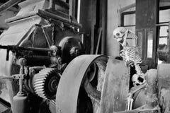 El molino harinero viejo Fotografía de archivo
